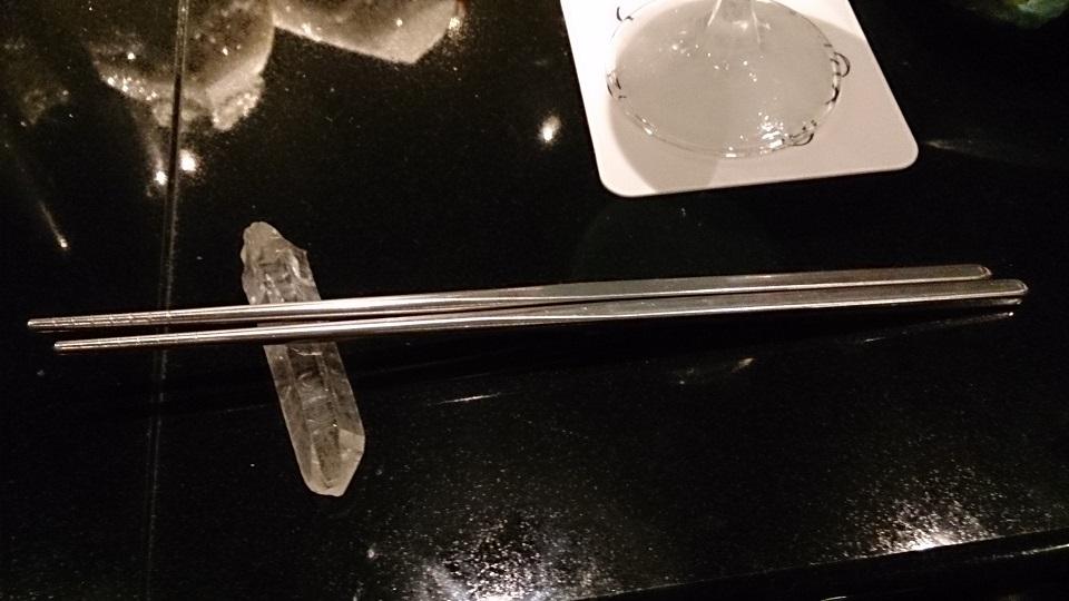 水晶箸置き